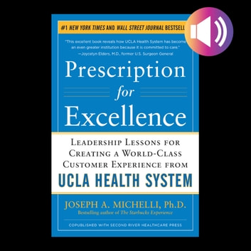 Prescription for Excellence: Leadership Lessons for Creating a World Class Customer Experience from UCLA Health System audiobook by Joseph Michelli