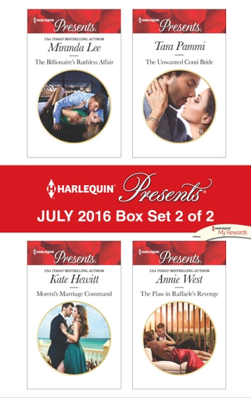 Harlequin Presents July 2016 - Box Set 2 of 2 - An Anthology 電子書 by Miranda Lee,Kate Hewitt,Tara Pammi,Annie West