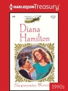 Separate Rooms ebook by Diana Hamilton