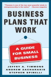 Business Plans that Work ebook by Stephen Spinelli,Andrew Zacharakis,Jeffry Timmons
