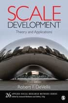 Scale Development ebook by Robert F. DeVellis