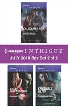 Harlequin Intrigue July 2019 - Box Set 2 of 2 ebook by Janie Crouch, Amanda Stevens, Tyler Anne Snell