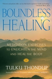 Boundless Healing - Meditation Exercises to Enlighten the Mind and Heal the Body ebook by Tulku Thondup