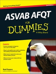 ASVAB AFQT For Dummies ebook by Rod Powers