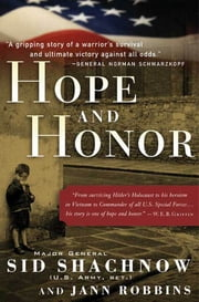 Hope and Honor ebook by Sidney Shachnow,Jann Robbins