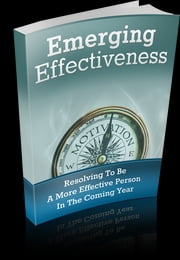 Emerging Effectiveness ebook by Anonymous