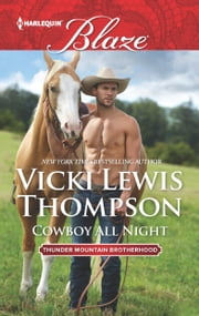 Cowboy All Night ebook by Vicki Lewis Thompson