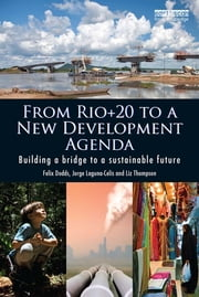 From Rio+20 to a New Development Agenda - Building a Bridge to a Sustainable Future ebook by Felix Dodds,Jorge Laguna-Celis,Liz Thompson