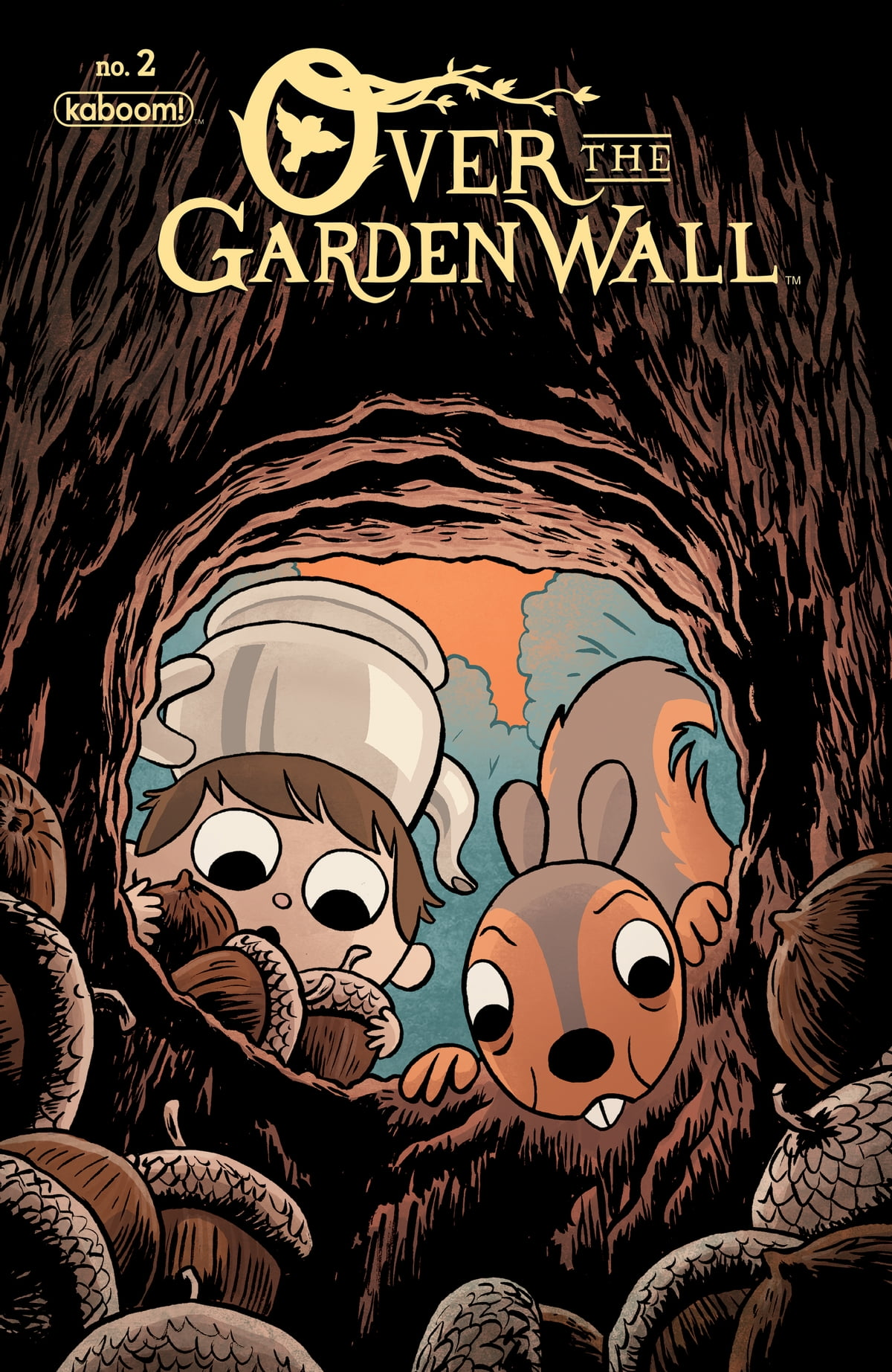 over the garden wall 2 ebook by pat mchale 9781681598048 rakuten kobo - Over The Garden Wall Poster