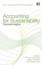 Accounting for Sustainability - Practical Insights ebook by Anthony Hopwood,Jeffrey Unerman