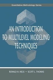 An Introduction to Multilevel Modeling Techniques ebook by Kobo.Web.Store.Products.Fields.ContributorFieldViewModel