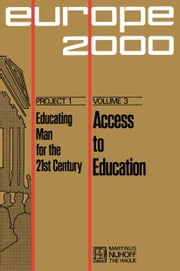 Access to Education - New Possibilities ebook by A. Sauvy