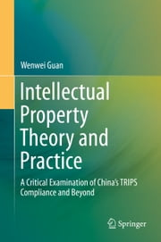 Intellectual Property Theory and Practice - A Critical Examination of China's TRIPS Compliance and Beyond ebook by Wenwei Guan
