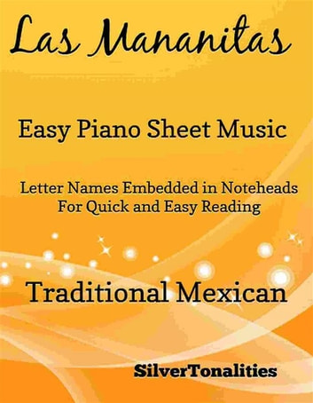 Las Mananitas Easy Piano Sheet Music Ebook De Silvertonalities