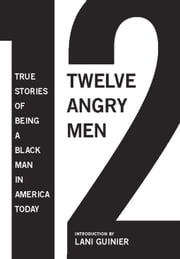 12 Angry Men - True Stories of Being a Black Man in America Today ebook by Gregory S. Parks,Matthew W. Hughey