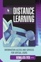 Distance Learning ebook by Hemalata Iyer