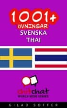 1001+ övningar svenska - Thai ebook by Gilad Soffer