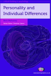 Personality and Individual Differences ebook by Dr Bere Mahoney