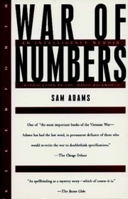 War of Numbers - An Intelligence Memoir ebook by Sam Adams,David Hackworth