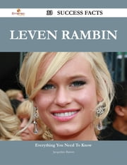 Leven Rambin 33 Success Facts - Everything you need to know about Leven Rambin ebook by Jacqueline Barton