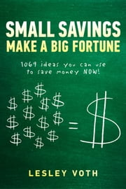 Small Savings Make a Big Fortune - 1069 ideas you can use to save money NOW! ebook by Lesley Voth