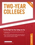 Two-Year Colleges 2012 ebook by Peterson's