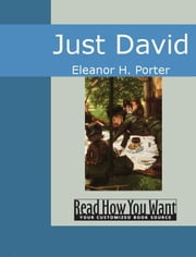 Just David ebook by Eleanor H. Porter