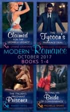 Modern Romance Collection: October 2017 Books 1 - 4 (Mills & Boon e-Book Collections) 電子書籍 by Lynne Graham, Michelle Smart, Maisey Yates,...