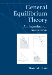 General Equilibrium Theory ebook by Starr, Ross M.