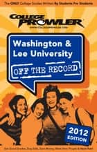 Washington & Lee University 2012 ebook by Zachary Barbieri