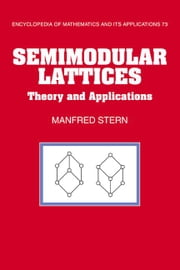 Semimodular Lattices ebook by Stern, Manfred