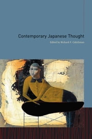 Contemporary Japanese Thought ebook by Richard Calichman