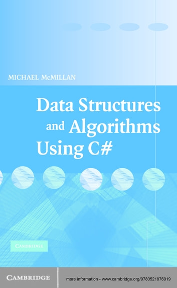 data structures and algorithms using c# by michael mcmillan