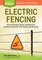 Electric Fencing ebook by Ann Larkin Hansen