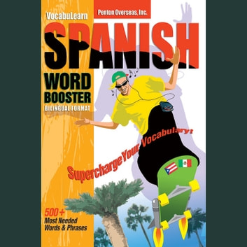 Vocabulearn: Spanish / English Level 1 - Bilingual Vocabulary Audio Series audiobook by Penton Overseas