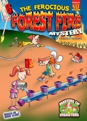 The Ferocious Forest Fire Mystery ebook by Carole Marsh