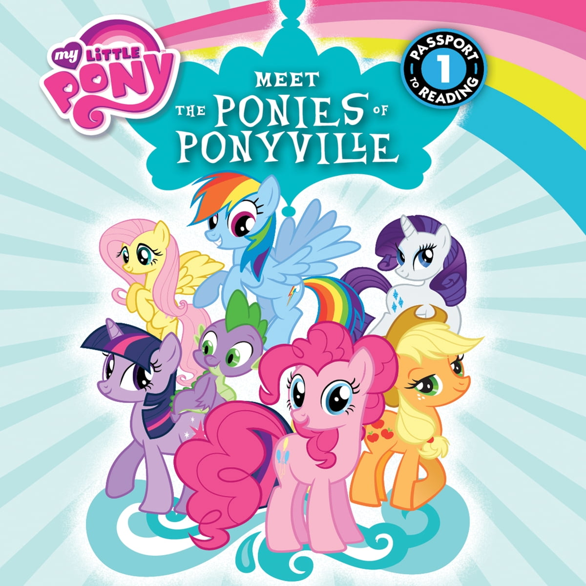 - My Little Pony: Meet The Ponies Of Ponyville Audiobook By Olivia