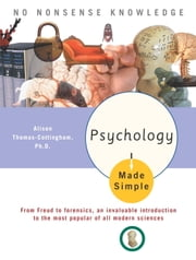 Psychology Made Simple ebook by Alison Thomas-Cottingham, Ph.D.