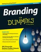 Branding For Dummies eBook par Bill Chiaravalle,Barbara Findlay Schenck