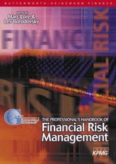 Professional's Handbook of Financial Risk Management ebook by Borodovsky, Lev