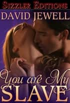 YOU ARE MY SLAVE ebook by David Jewell