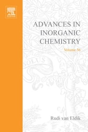 Advances in Inorganic Chemistry: Redox-active Metal Complexes ebook by van Eldik, Rudi