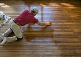 Finishing a Hardwood Floor for Beginners ebook by Gloria Van Patten