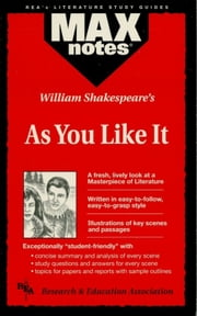 As You Like It (MAXNotes Literature Guides) ebook by Michael Morrison