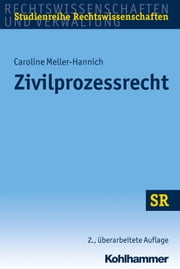 Zivilprozessrecht ebook by Kobo.Web.Store.Products.Fields.ContributorFieldViewModel