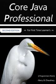 Core Java Professional: For First Time Learner's. ebook by Harry. H. Chaudhary.