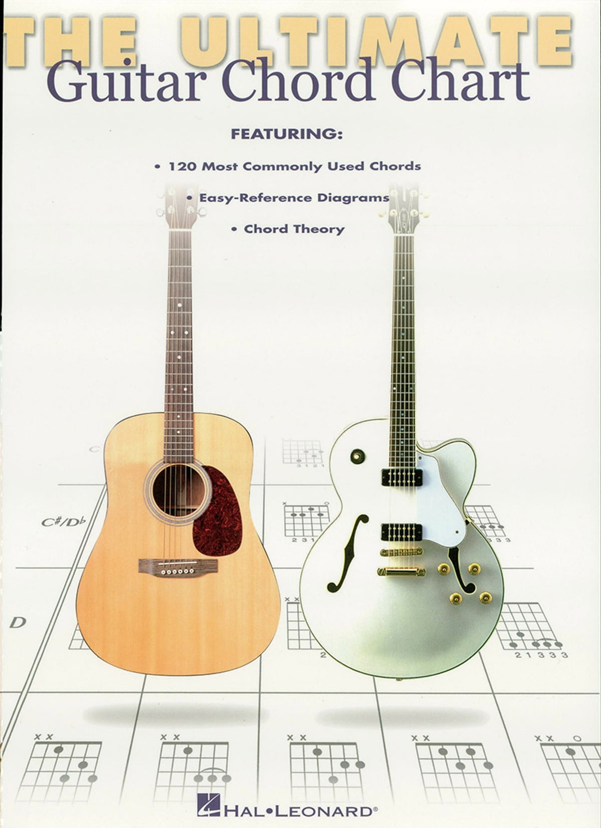 Ultimate Guitar Chord Chart Music Instruction Ebook By Hal Leonard