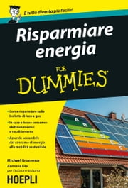 Risparmiare energia For Dummies ebook by Michael Grosvenor