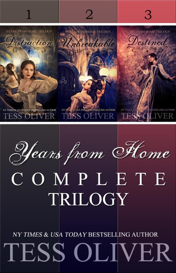 Years from Home Trilogy Box Set ebook by Tess Oliver