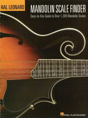 Mandolin Scale Finder Music Instruction Ebook By Chad Johnson